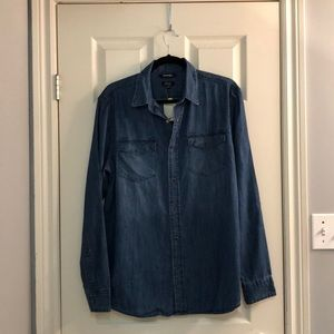 New* Washed out denim shirt